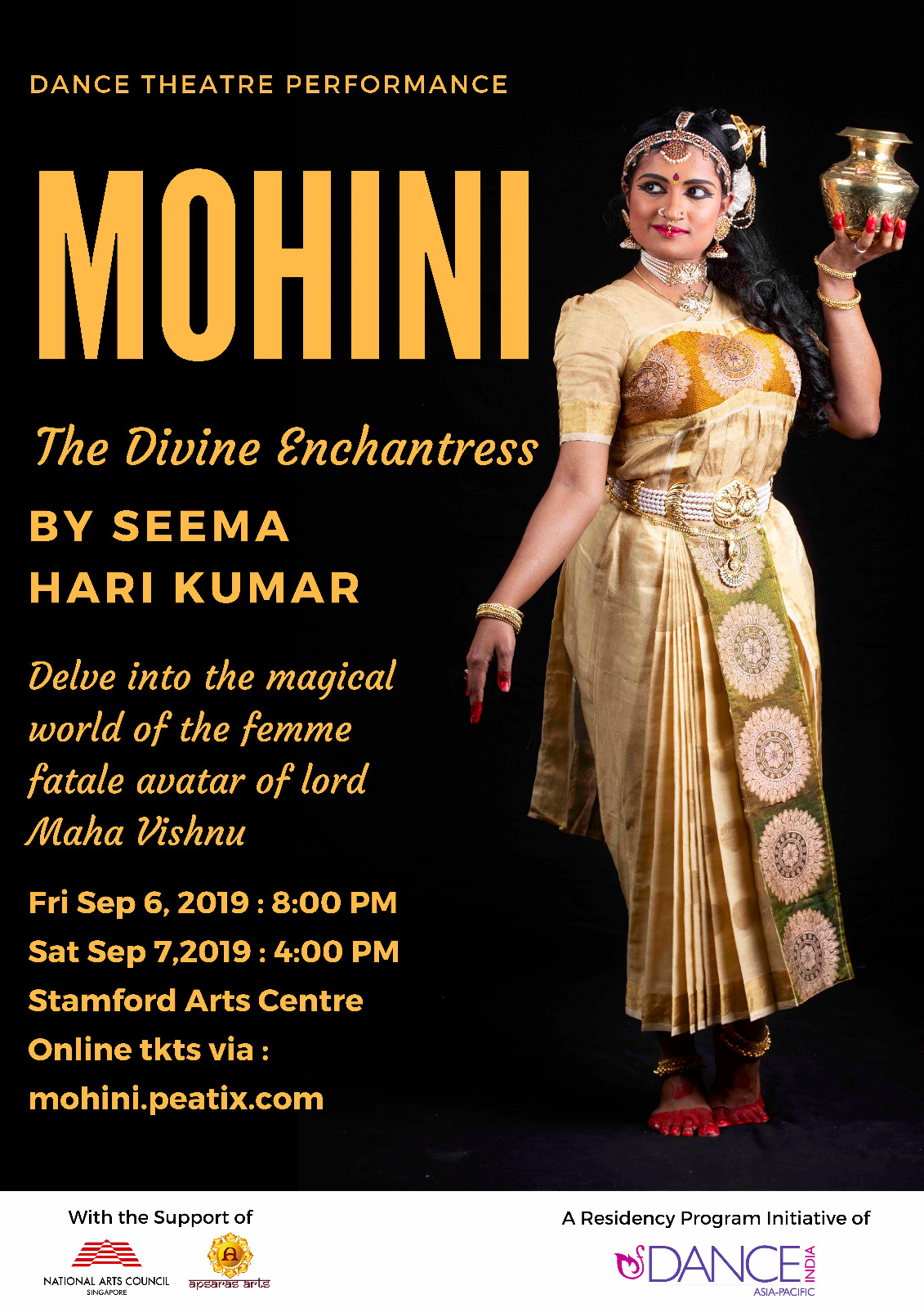 Mohini – The Divine Enchantress by Seema Harikumar