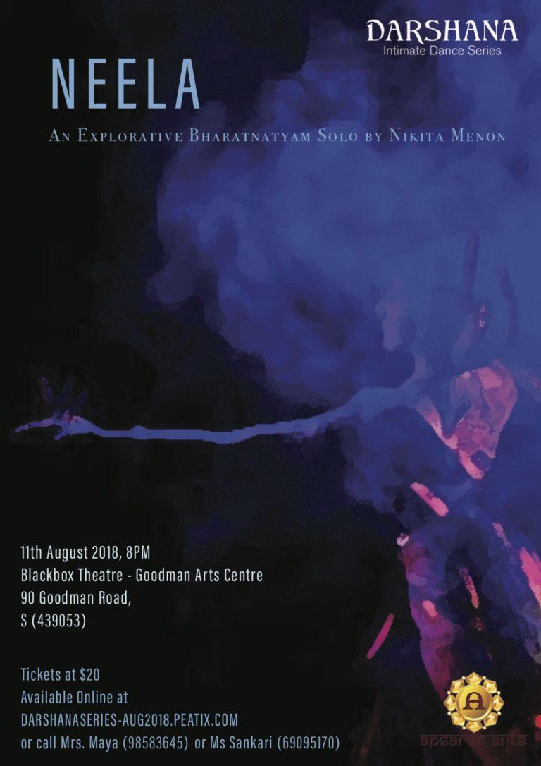 NEELA- An Explorative Bharatanatyam Solo