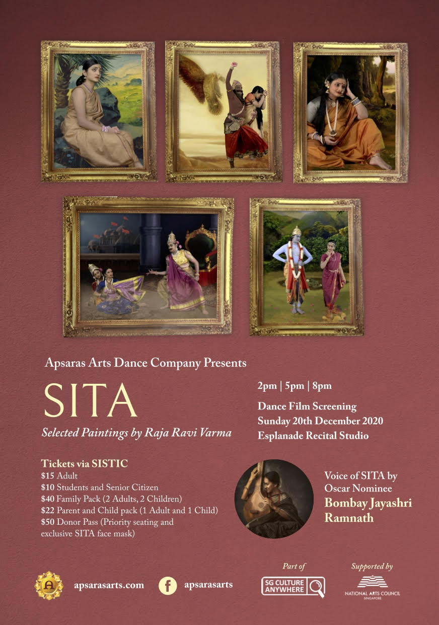 Sita - Selected Paintings by Raja Ravi Varma